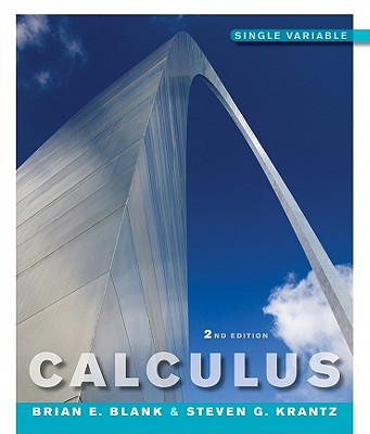 Calculus By Blank, Brian E./ Krantz, Steven G.
